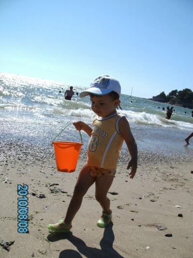 mon titi d'amour a la plage