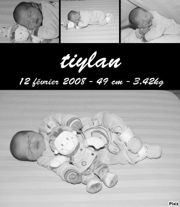 mon fils le jour de sa née