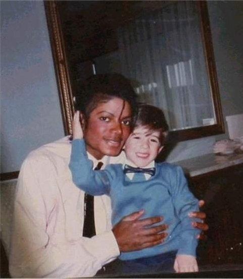 Frank Cascio et Michael Jackson