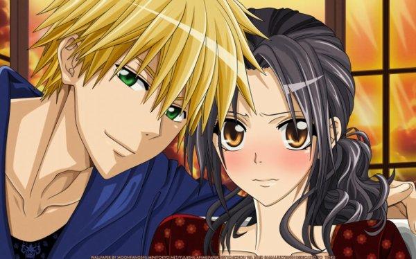Je vous présente Usi et Misaki :)