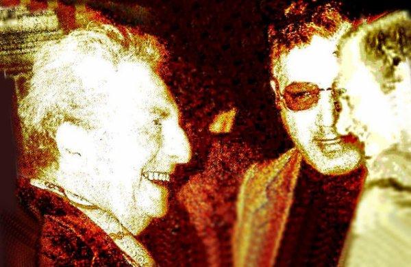 Roma, 1969/70 - Franco Pastore con Gaetano Rispoli e Carlo Levi.