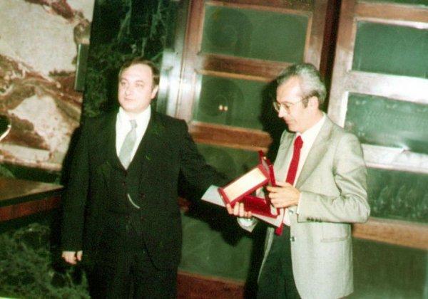 Anni ottanta, Salerno, palazzo città, Salone dei marmi.