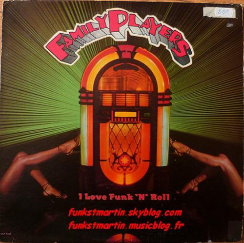 FAMILY PLAYERS 1982 I LOVE FUNK'N'ROLL LP