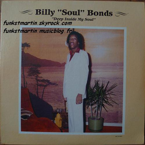 BILLY SOUL BONDS 1985 DEEP INSIDE MY SOUL LP