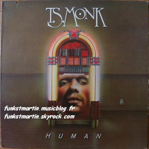 T.S. MONK 1982 HUMAN LP