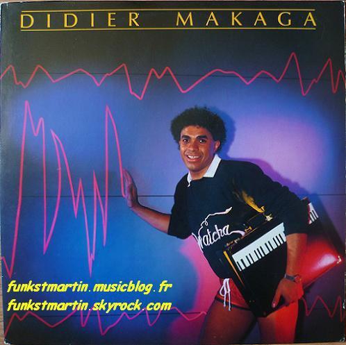 DIDIER MAKAGA 1984 WATCHA LP