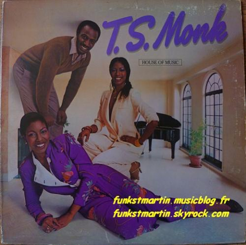 T.S. MONK 1980 HOUSE OF MUSIC LP