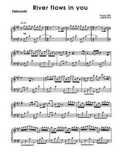 Partition d'un merveilleux morceau de Piano ...