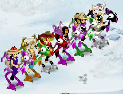 La petite team qui avance! :)