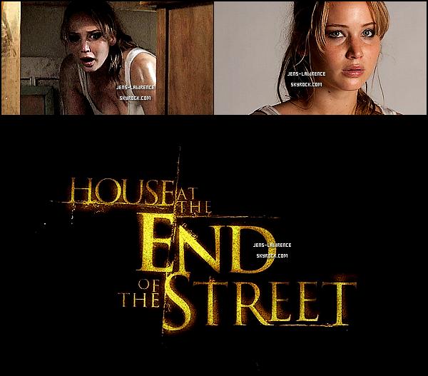 TRAILER DE « HOUSE AT THE END OF THE STREET » + AFFICHE & STILLS DU FILM ! Ton avis ? Sortie : 26/09/12 ; Réalisé par M. Tonderai ; Avec J. Lawrence, M. Thieriot, E. Shue... ; Genre : Épouvante / horreur. Une mère et sa fille emménagent dans une demeure située juste à côté d'une maison qui fut le théâtre d'un double meurtre..