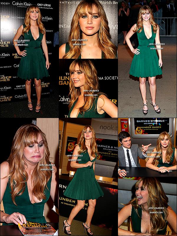 LES AVANT-PREMIERES DU FILM « THE HUNGER GAMES »DANS LE MONDE ! De L.A. à Paris en passant par Londres, la promotion du film a fait voyagé Jennifer.    Quelle robe préfères-tu ?
