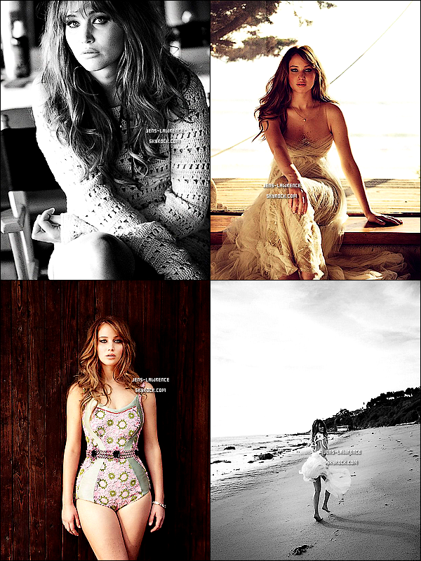 Photoshoot de Jennifer pour le magazine UK « Glamour » d'avril 2012.    Comment la trouves-tu ?