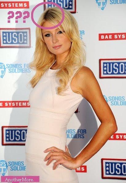 Paris Hilton est vraiment une fausse blonde !