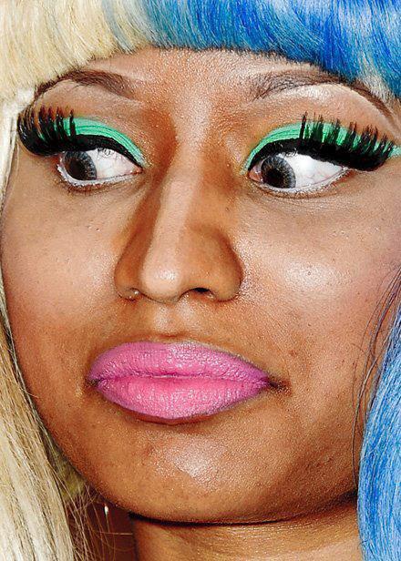 Zoom sur Nicki Minaj.