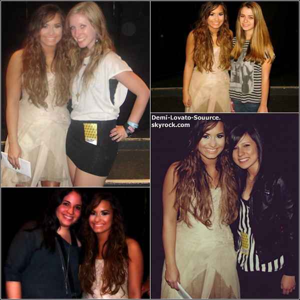 16 Septembre -  Demi a donné son premier concert à New-York City. Rien que les images montrent que ce show a dû être magnifique !