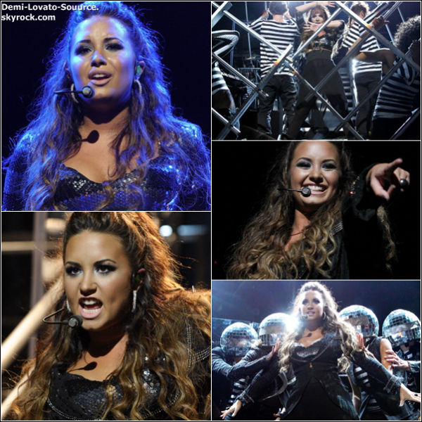 23 Septembre - Demi a donné son second concert, mais cette fois-ci à Los Angeles.