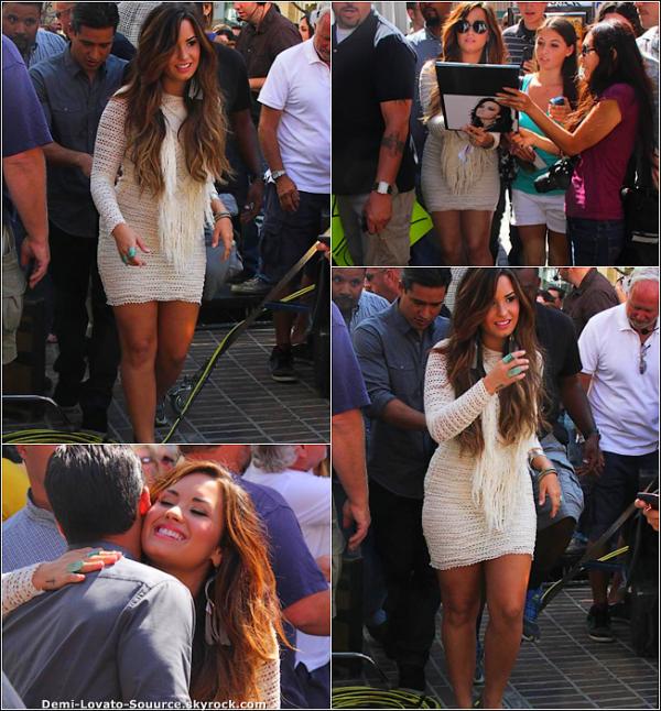 11 Octobre - Demi a été vue à l'hotel Groove.
