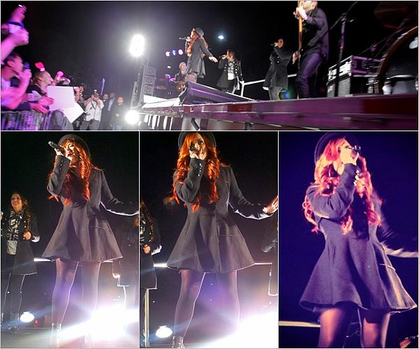 1 Décembre - Demi Lovato ainterprétéson deuxième titre Give your heart a break chez VEVO.