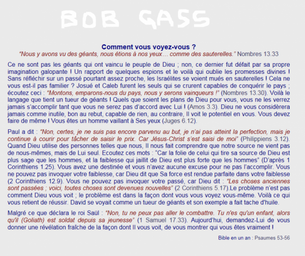 BOB  GASS