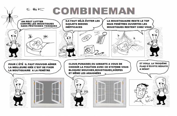 COMBINEMAN   ANTI MOUSTIQUES