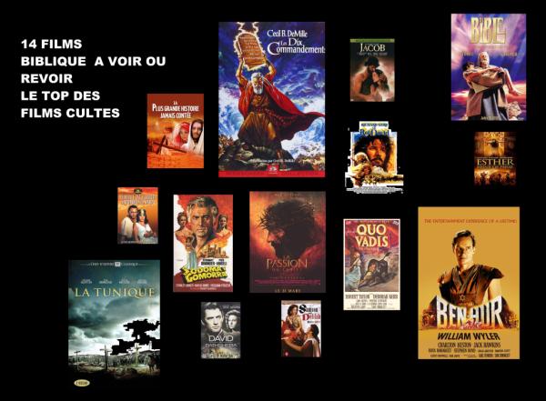 LE TOP DES FILMS BIBLIQUES