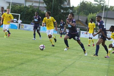 Match amical N°2 - Evian / FCN : 0 / 2