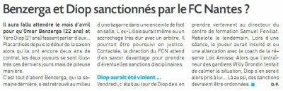 Laval / FCN : Avant match