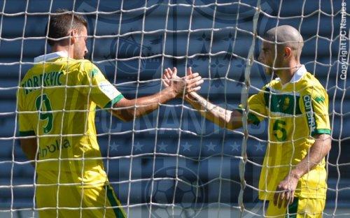 FCN / FK Vovjodina (match amical) : 2 / 1
