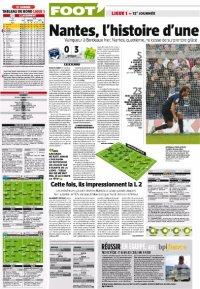 Bordeaux / FCN : 0 / 3