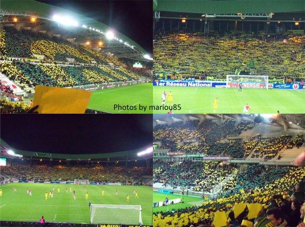~ Tribunes de la Beaujoire : FC Nantes / Monaco ~