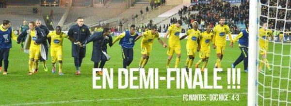 FCN / Nice [ 1/4 de finale / Coupe de la Ligue ] : 4 / 3