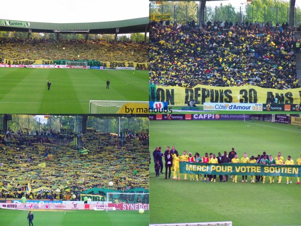 Photos FCN / Saint Etienne
