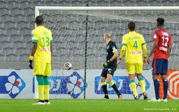 Lille / FCN : 2 / 0  [ 1/4 de finale de Coupe de la Ligue ]