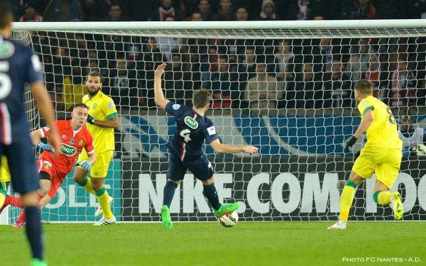 Paris / FCN [ CDF - 8èmes de finale ] : 2 / 0