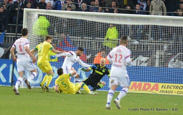Lyon / FCN : 1 / 0