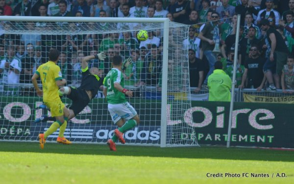 Saint Etienne / FCN : 1 / 0