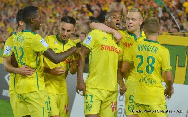 1ère journée : FCN / Guingamp : 1 / 0