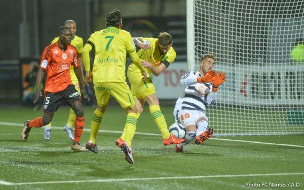 Lorient / FCN : 0 / 0 Dernier match de l'année 2015 !