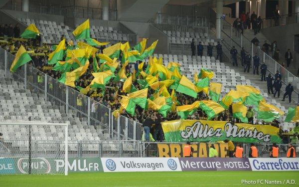 Bordeaux / FCN - 8ème de finale de CDF : 3 / 4