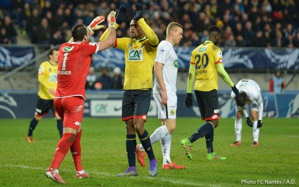 Sochaux / FCN [ 1/4 de Coupe de France ] : 3 / 2