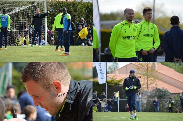 Photos entraînement à Bouaye (44) - Mercredi 27 avril 2016