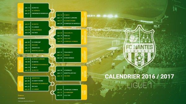 Saison 2016 / 2017