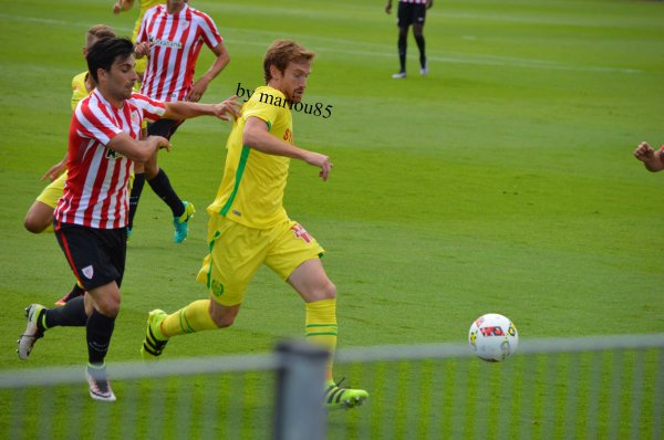 Photos FCN / Athletic Bilbao (match amical)