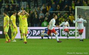 FCN / Nancy [ Coupe de la Ligue - 1/4 de finale ] : 0 / 2