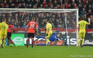 Rennes / FCN : 1 / 1