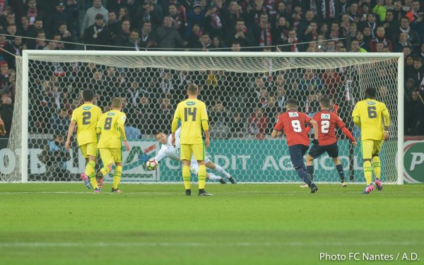 Lille / FCN [ 16èmes de finale de Coupe de France ] 1 / 0
