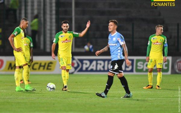 Tours / FCN [ Coupe de la Ligue - 16èmes de finale ] 1 / 3