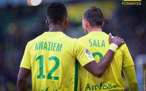 FCN / Angers : 1 / 0 [ Der' de 2017 à domicile ]