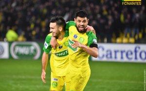 FCN / Auxerre (16ème Coupe de France) : 3 / 4
