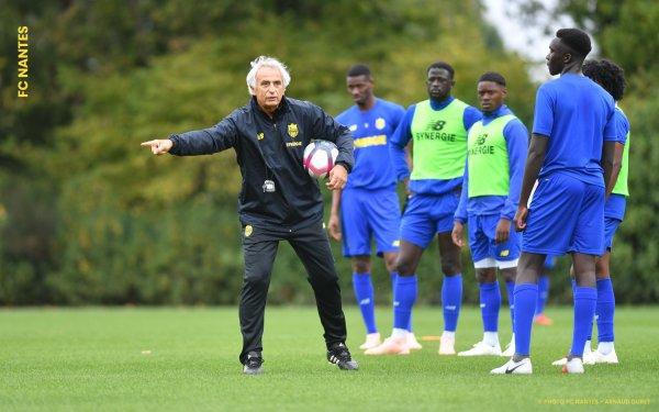 Vahid Halilhodzic est le nouvel entraîneur du FC Nantes